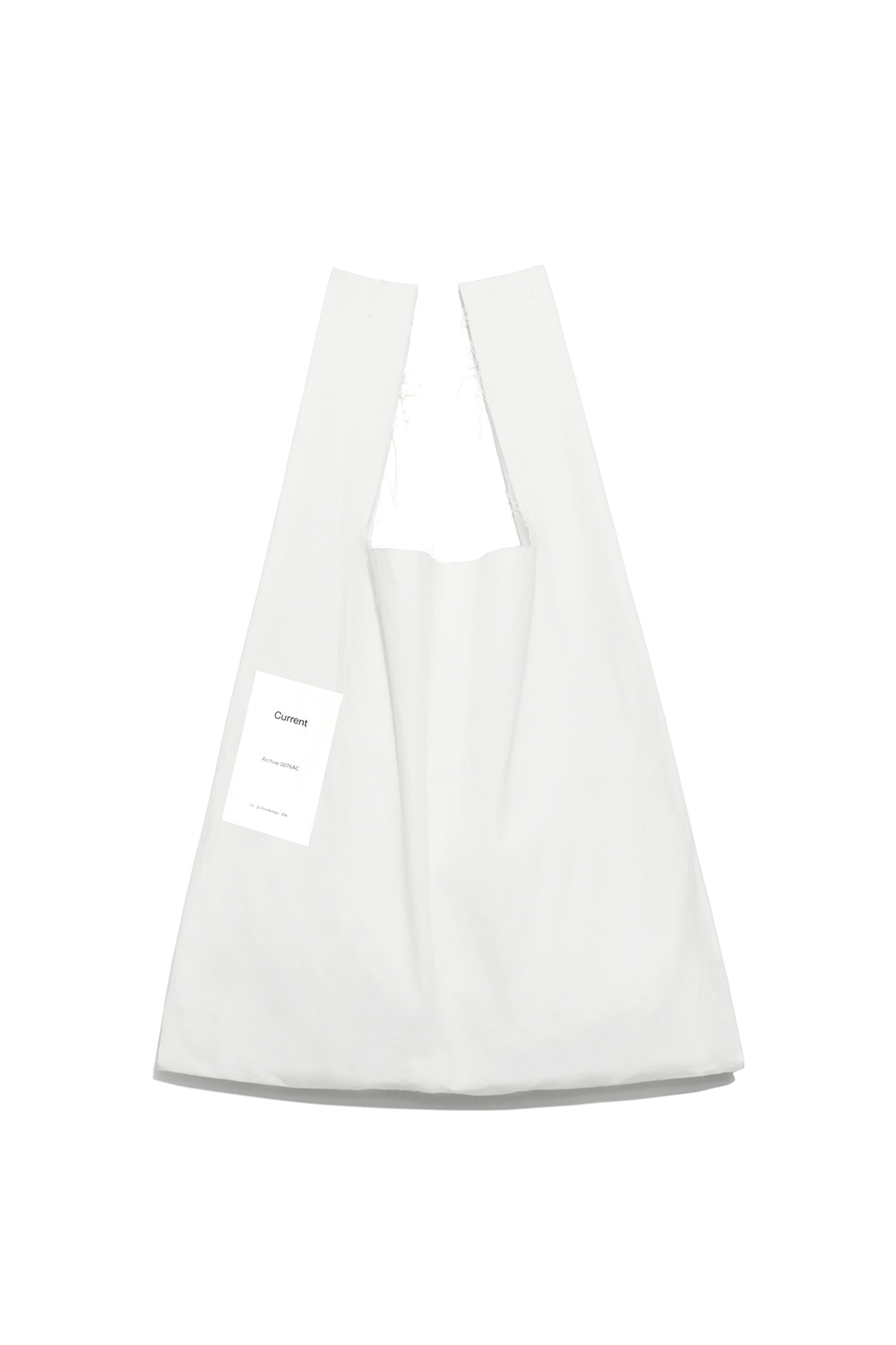 Cut Off Cotton Bag Women [White]