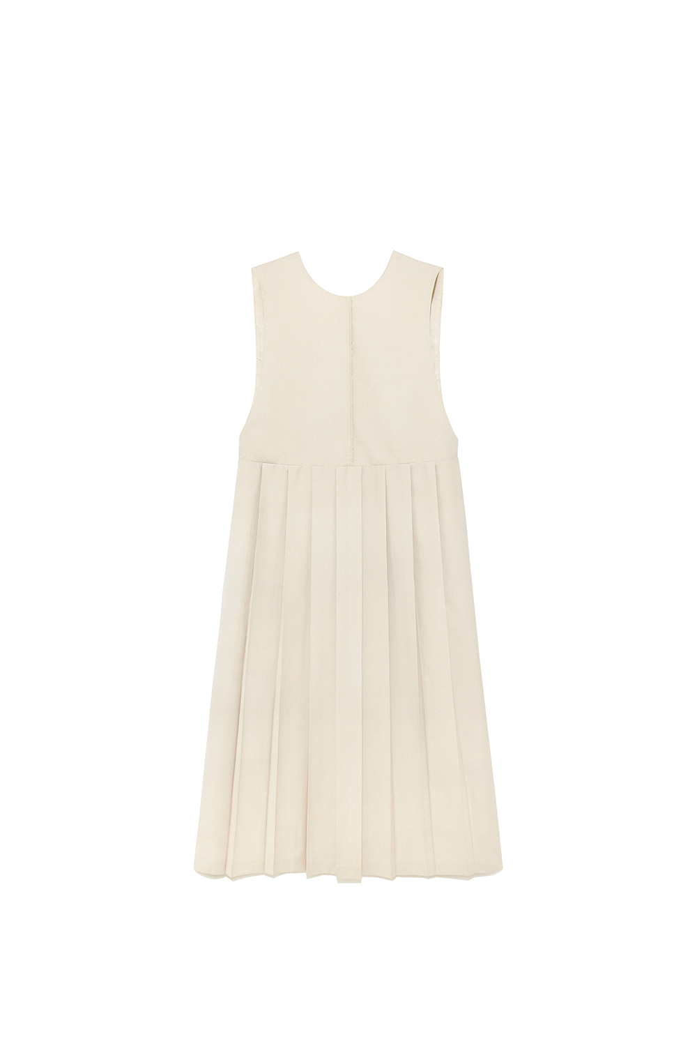 Pleat Dress Women [Ivory]