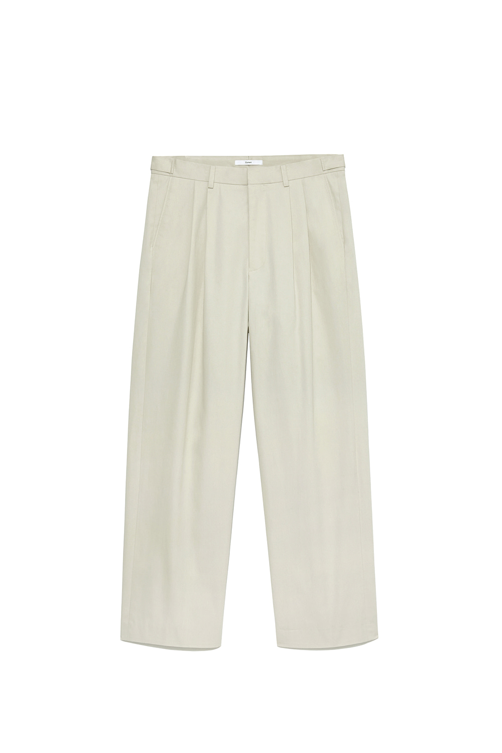 Two Tuck Pants Men [Ivory]