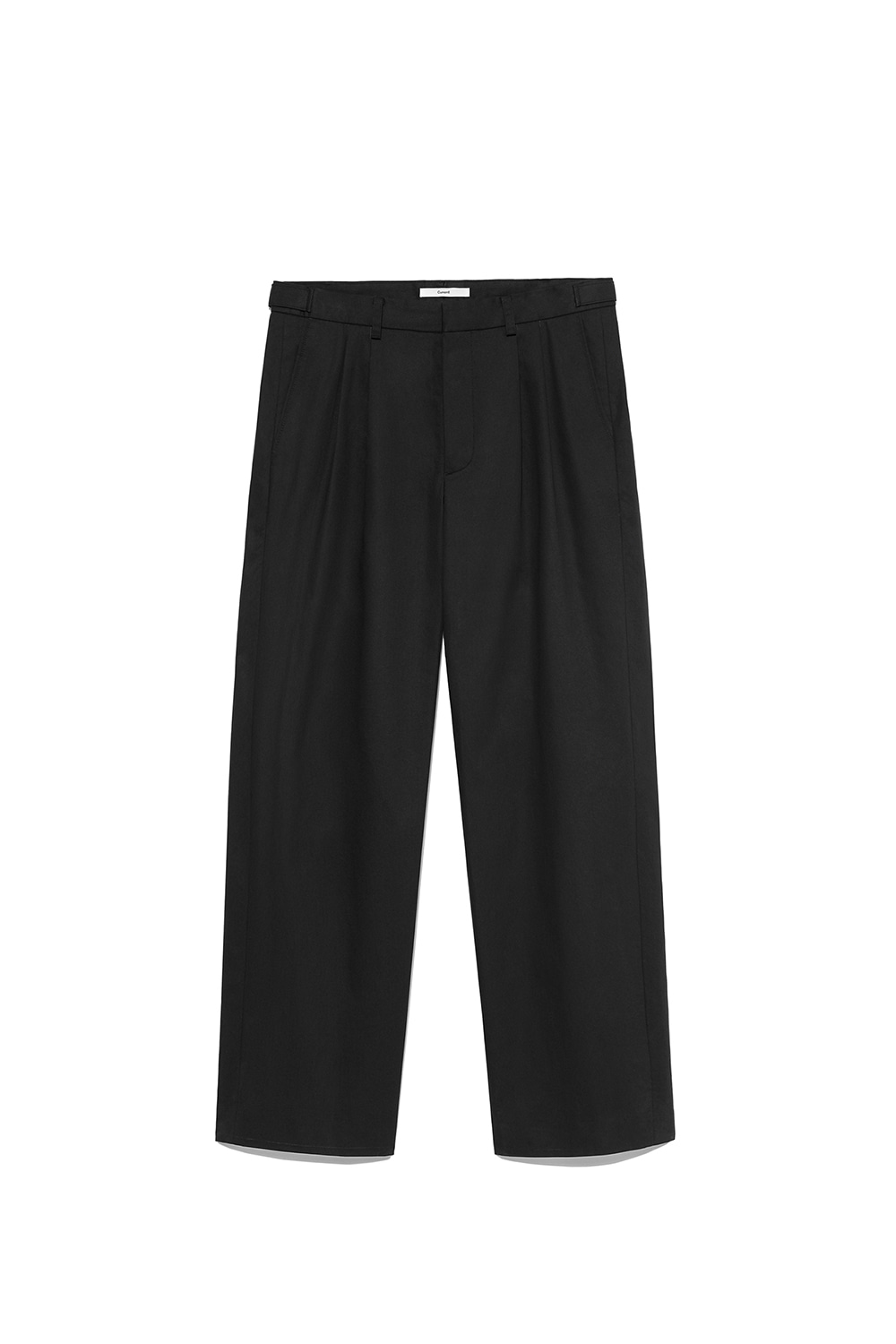 Two Tuck Pants Men [Black]