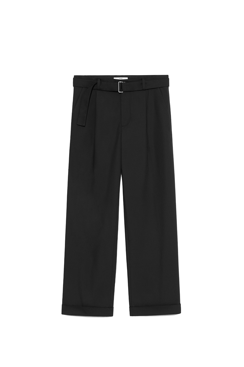 Belt Slacks Men [Black]