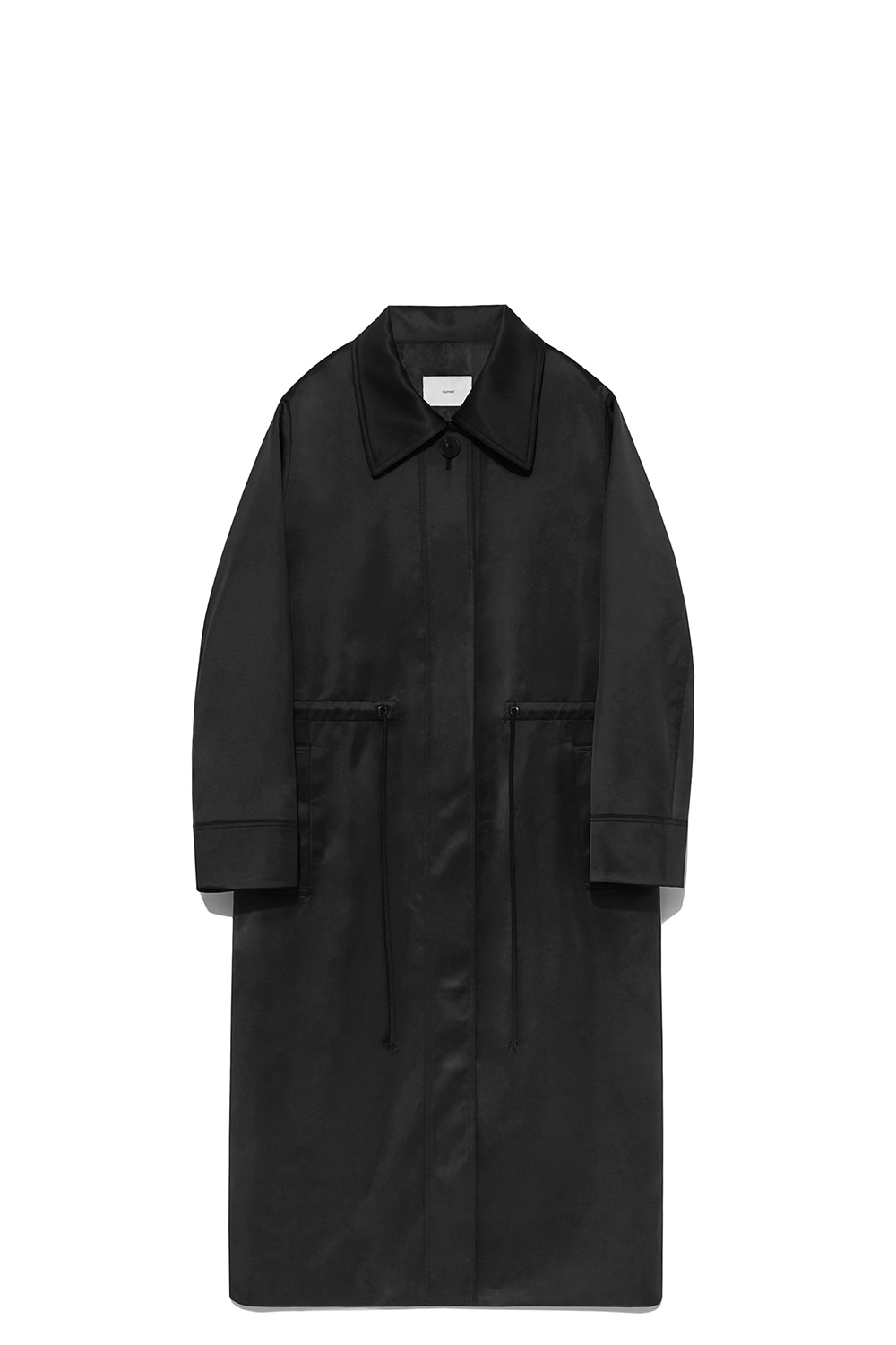 Satin Coat Women [Black]