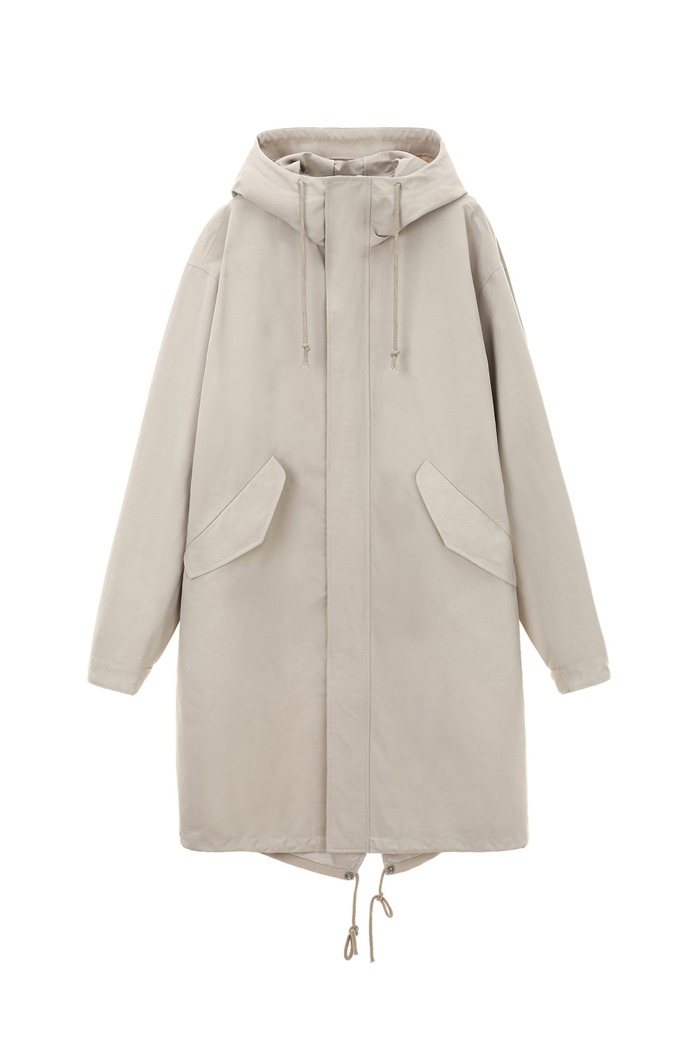 Hooded Parka Men [Light Beige]