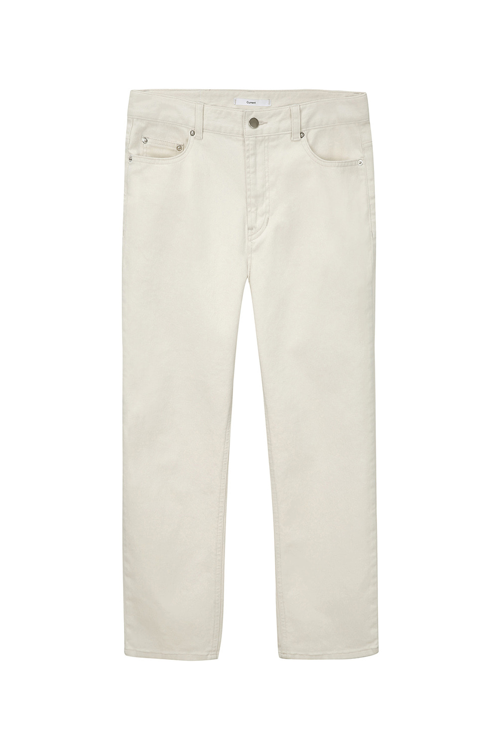 Crop Jeans Men [Cream]