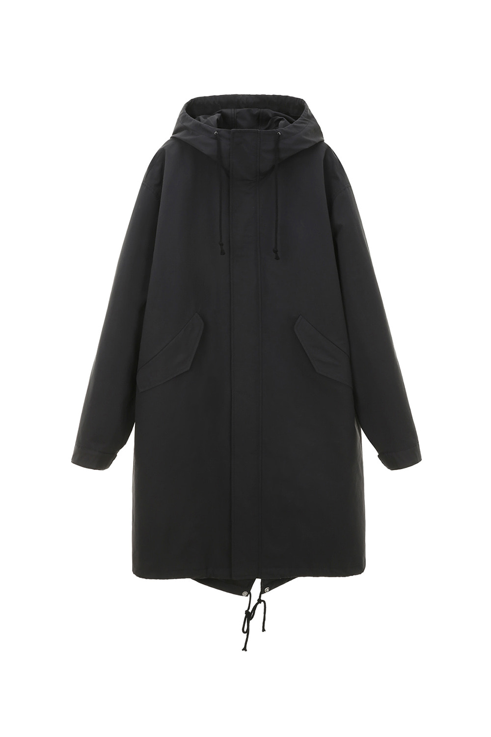 Hooded Parka Men [Almost Black] -60%