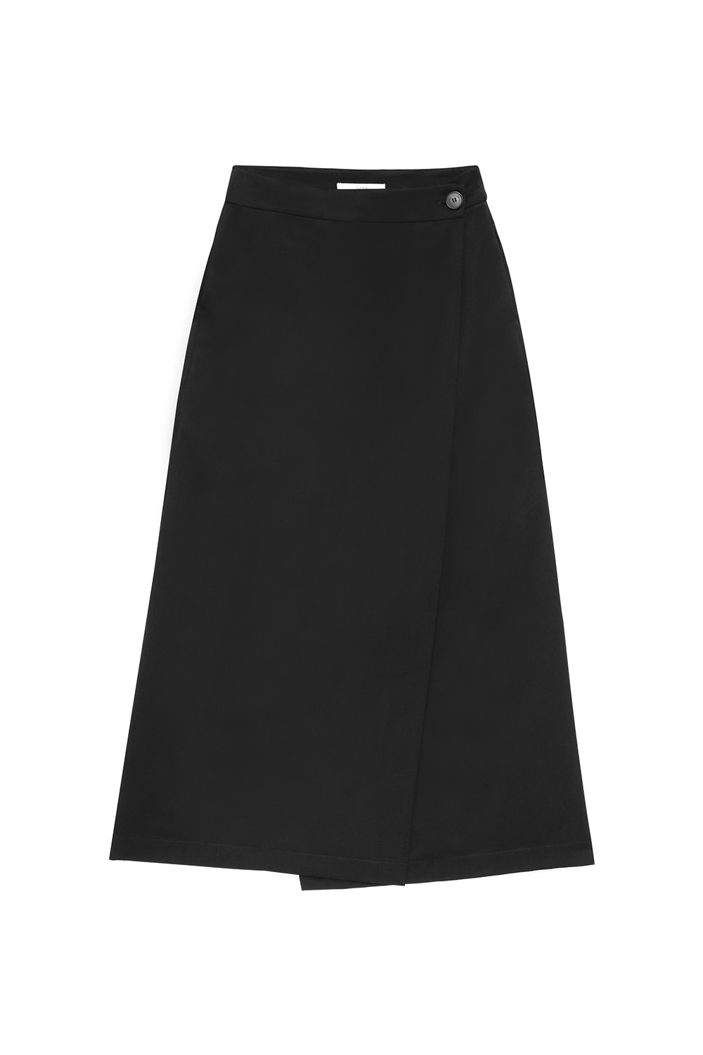 Long Wrap Skirts Women [Black] -50%