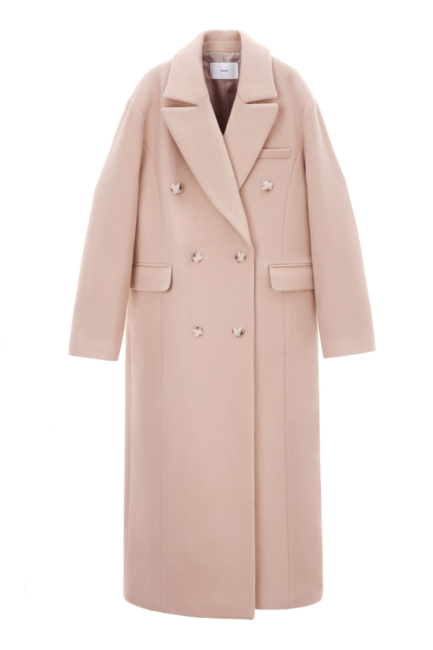 Double Coat Women [Light Pink] -75%