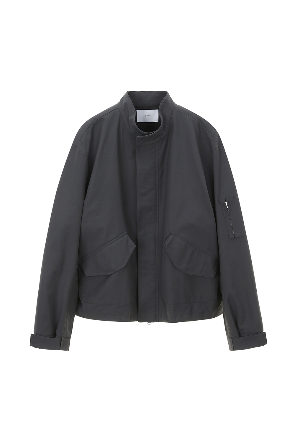 Military Jacket Men [Charcoal Gray]