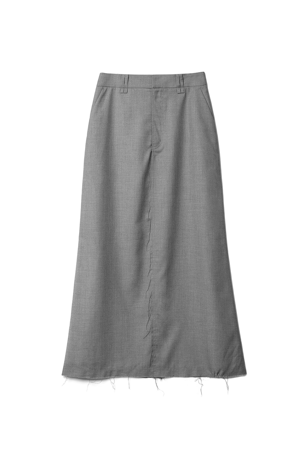 Damage Pocket Skirts Women [Gray]
