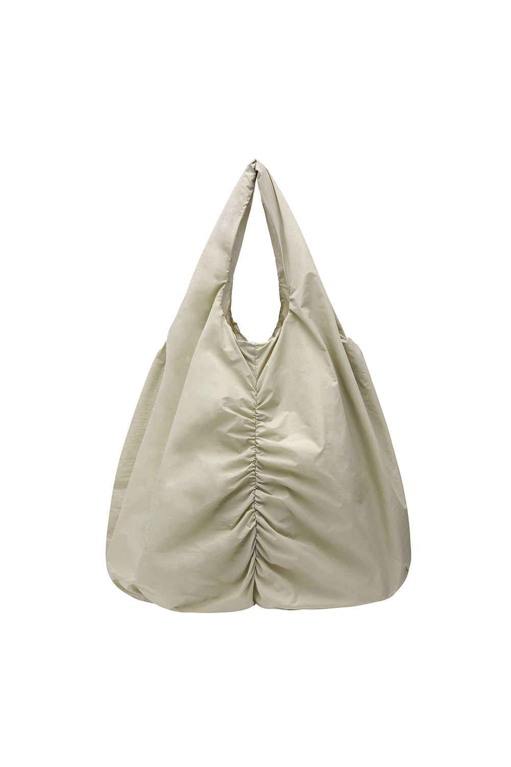 Shirring Shopper Bag Women [Cream]