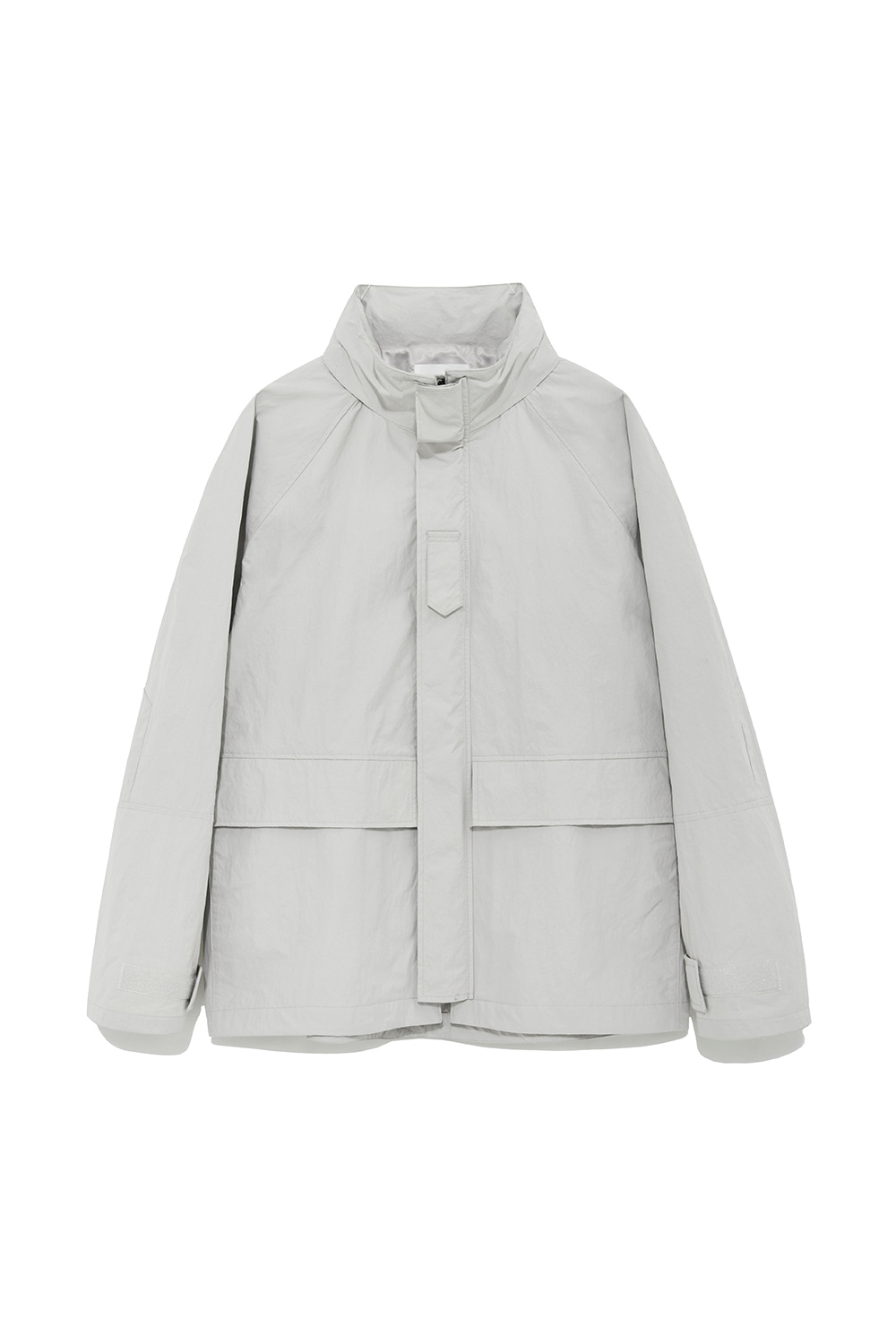 Shell Parka Men [Light Gray]