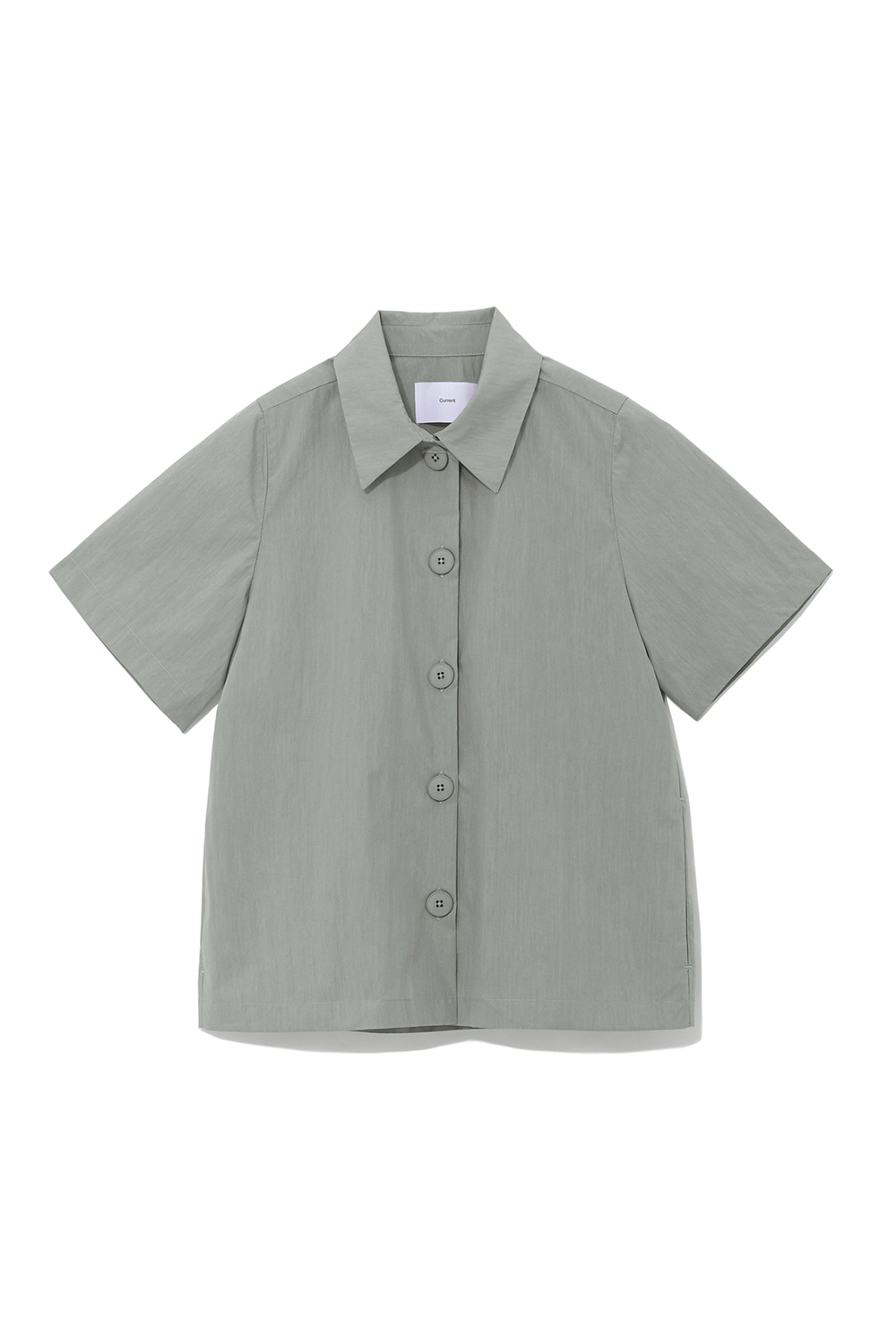 Over Shorts Shirts Women [Khaki]