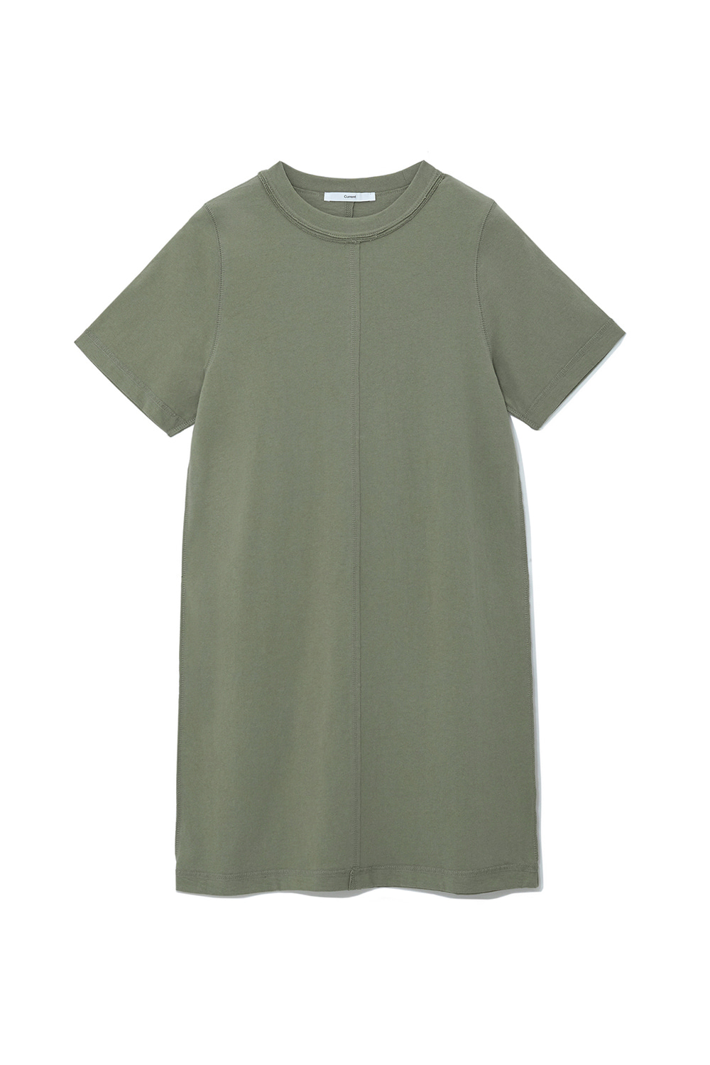 Damage Jersey Dress Women [Khaki]