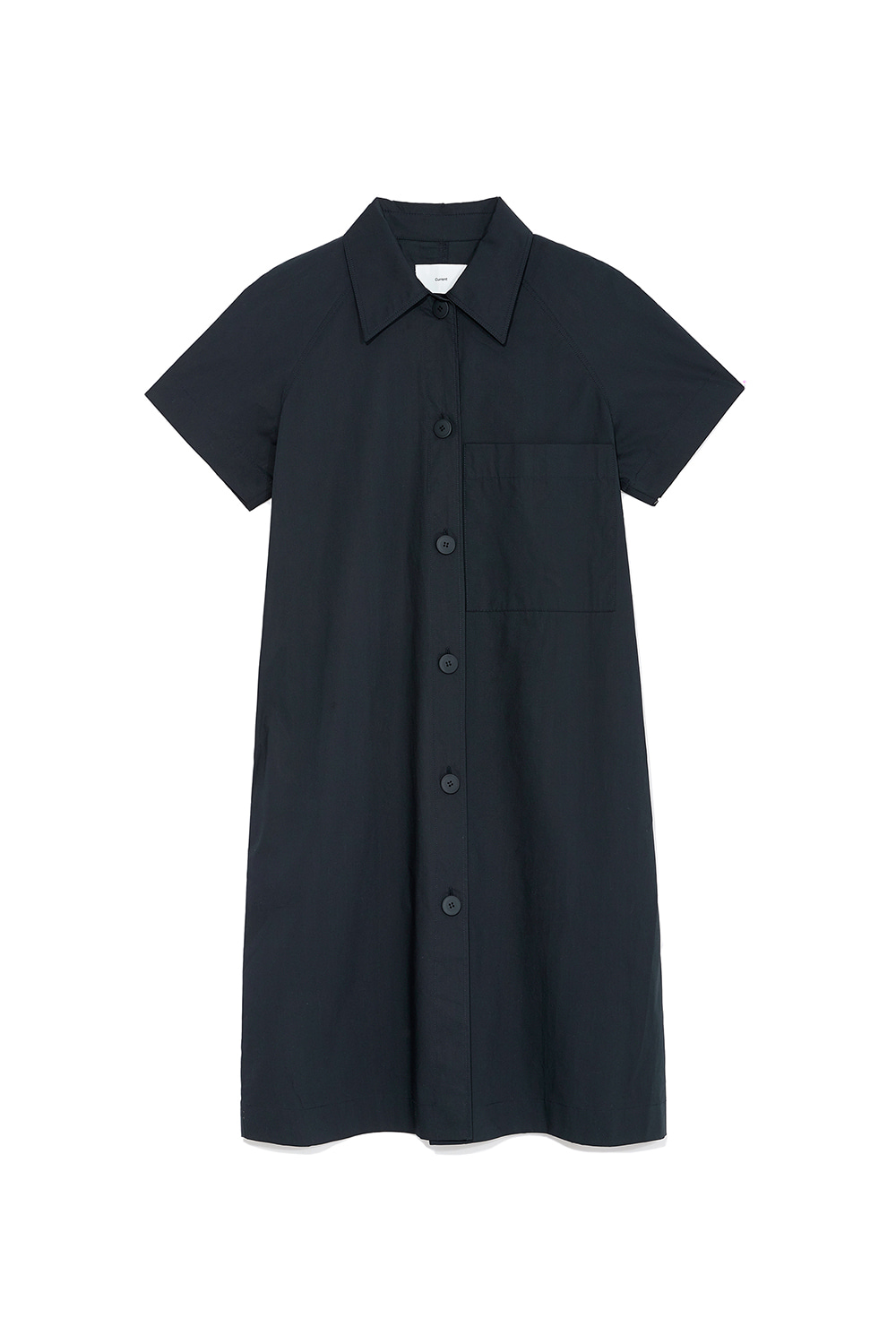 Over Shirts Dress Women [Navy]