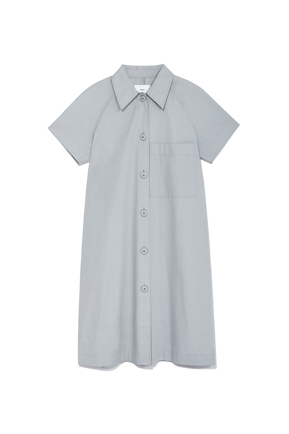 Over Shirts Dress Women [Gray] -40%