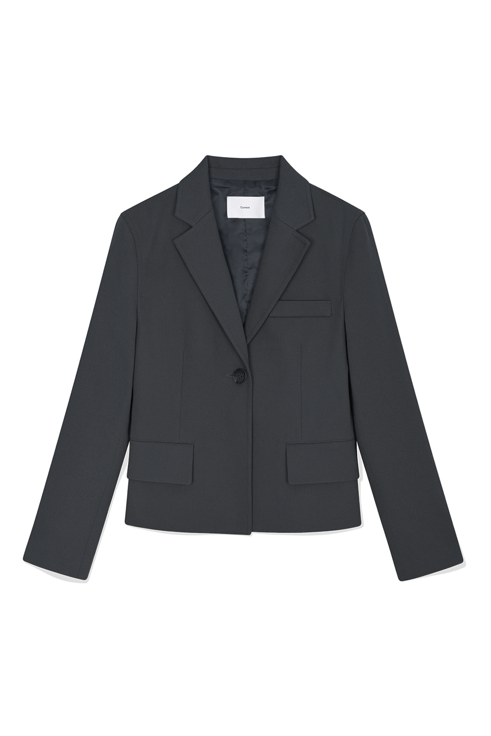 Line Silhouette Jacket Women JA [Charcoal Gray] -10%