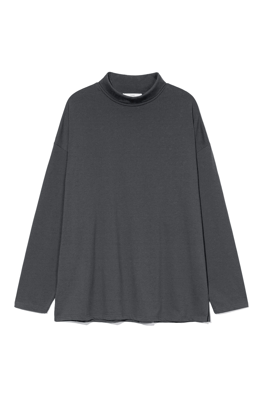 Turtle Neck Long Sleeves Men JA [Charcoal]