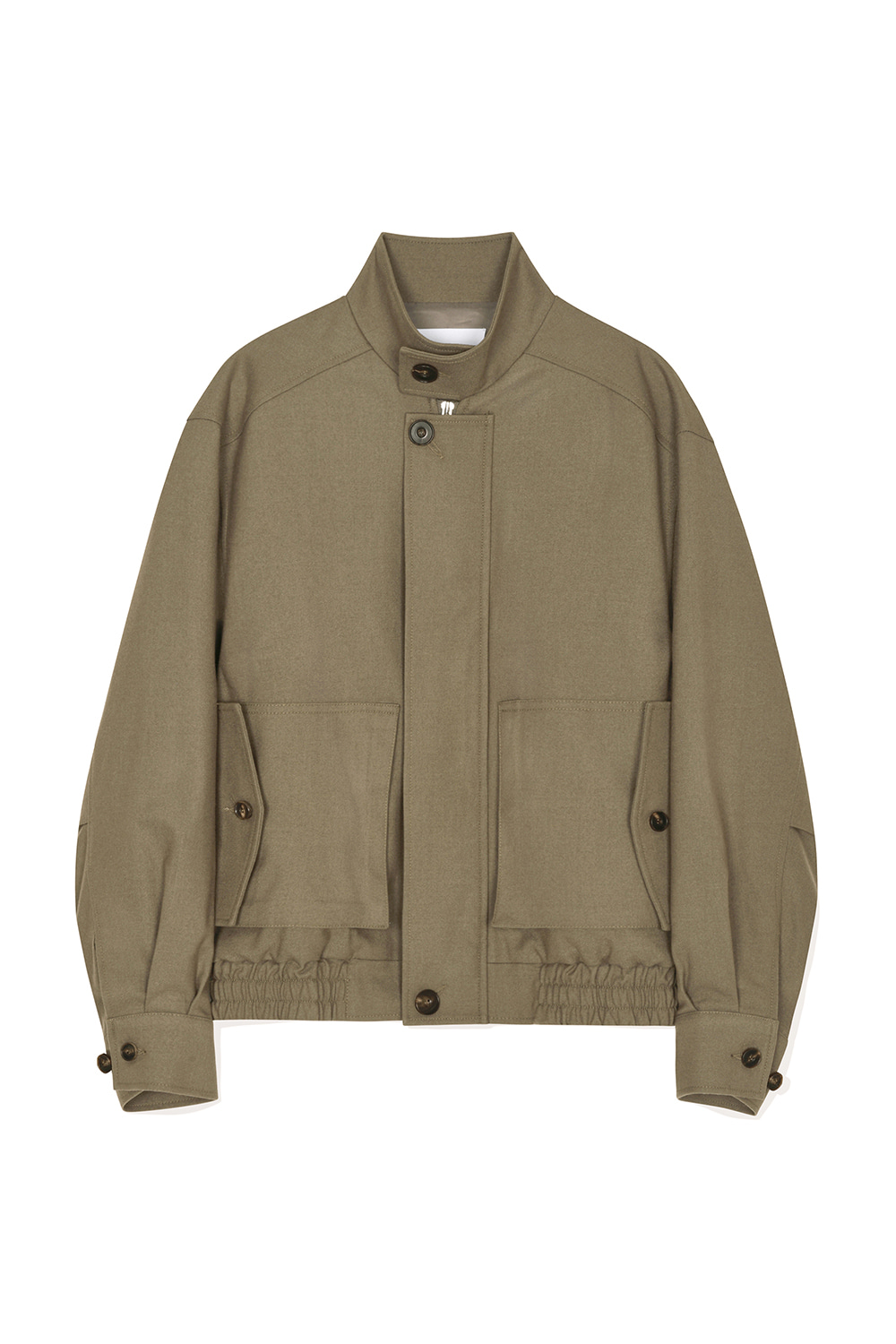 Wool Harrington Jacket Women JA [Sand Beige] -10%