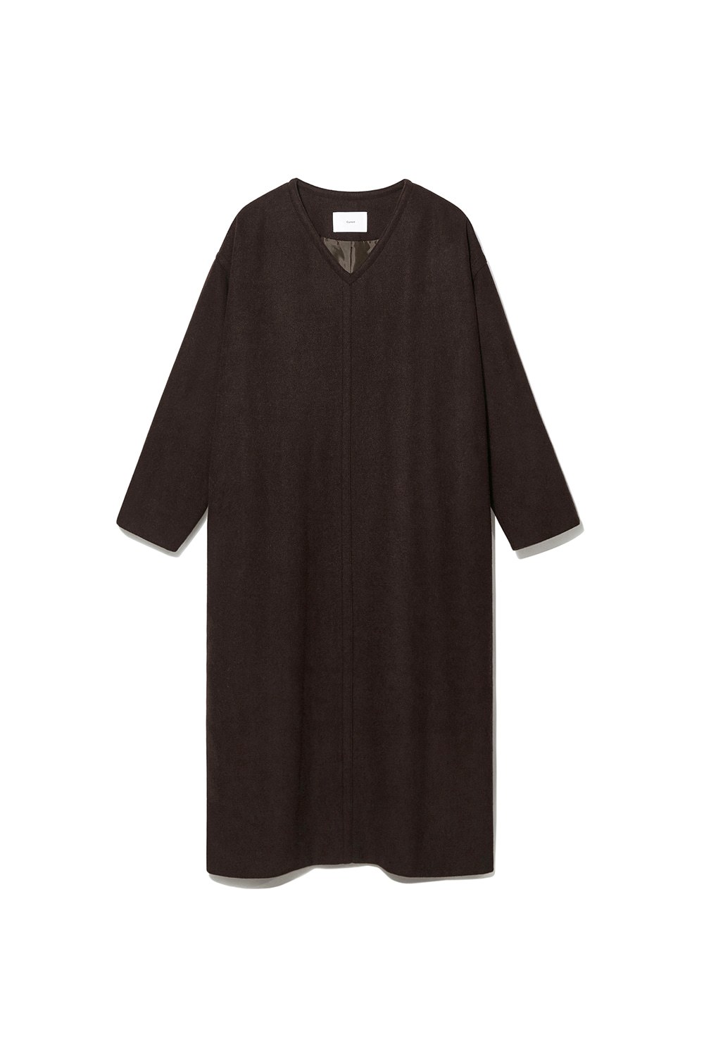 Wool Over Dress Women JA [Brown]