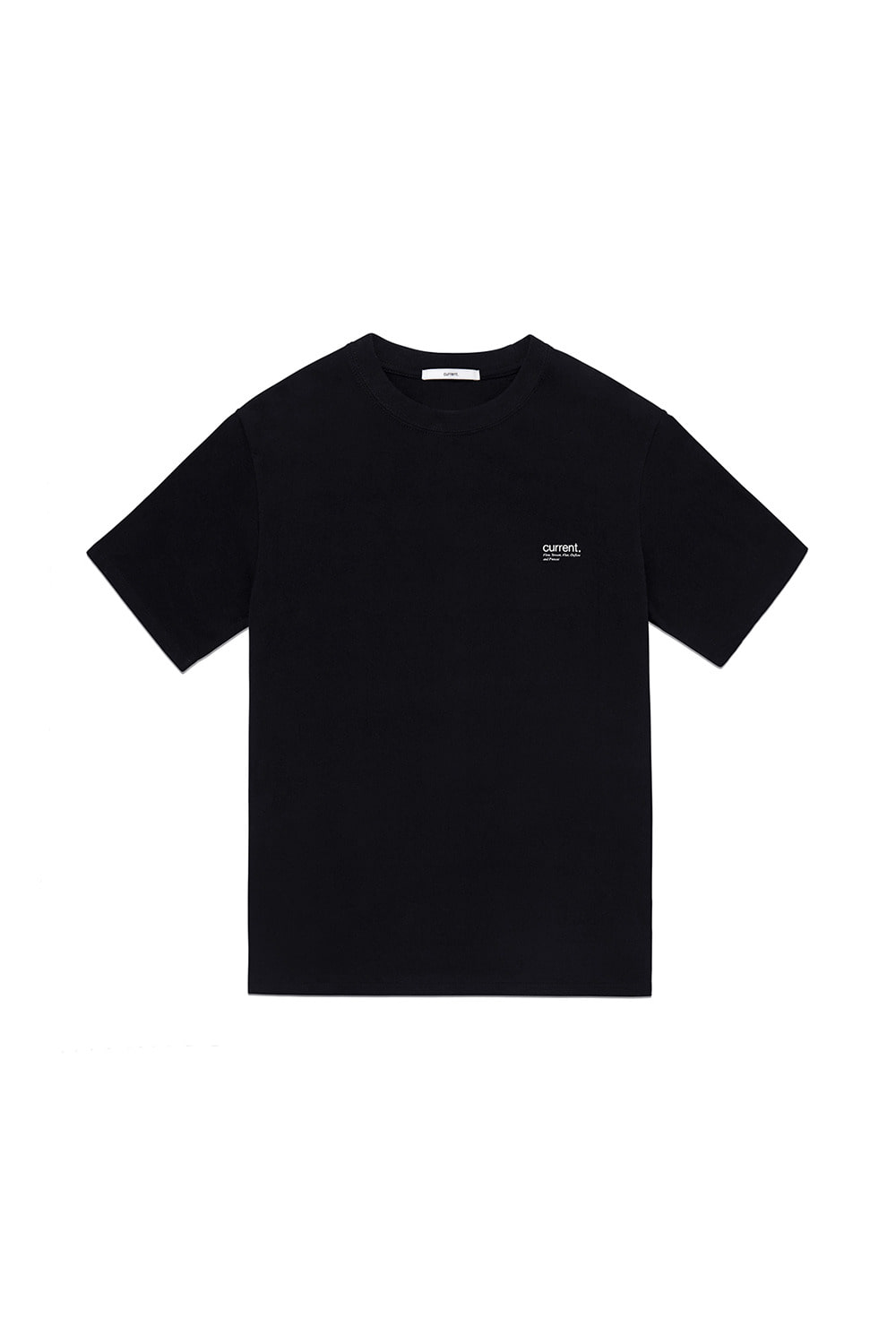 CURRENT LOGO TEE MAN [BLACK]