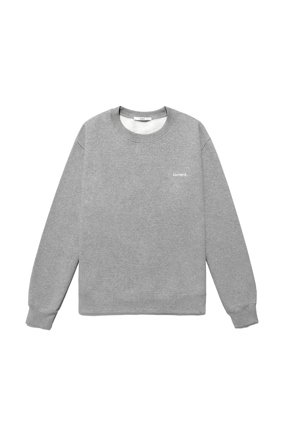 CURRENT LOGO SWEATSHIRT MAN [MELANGE GREY]