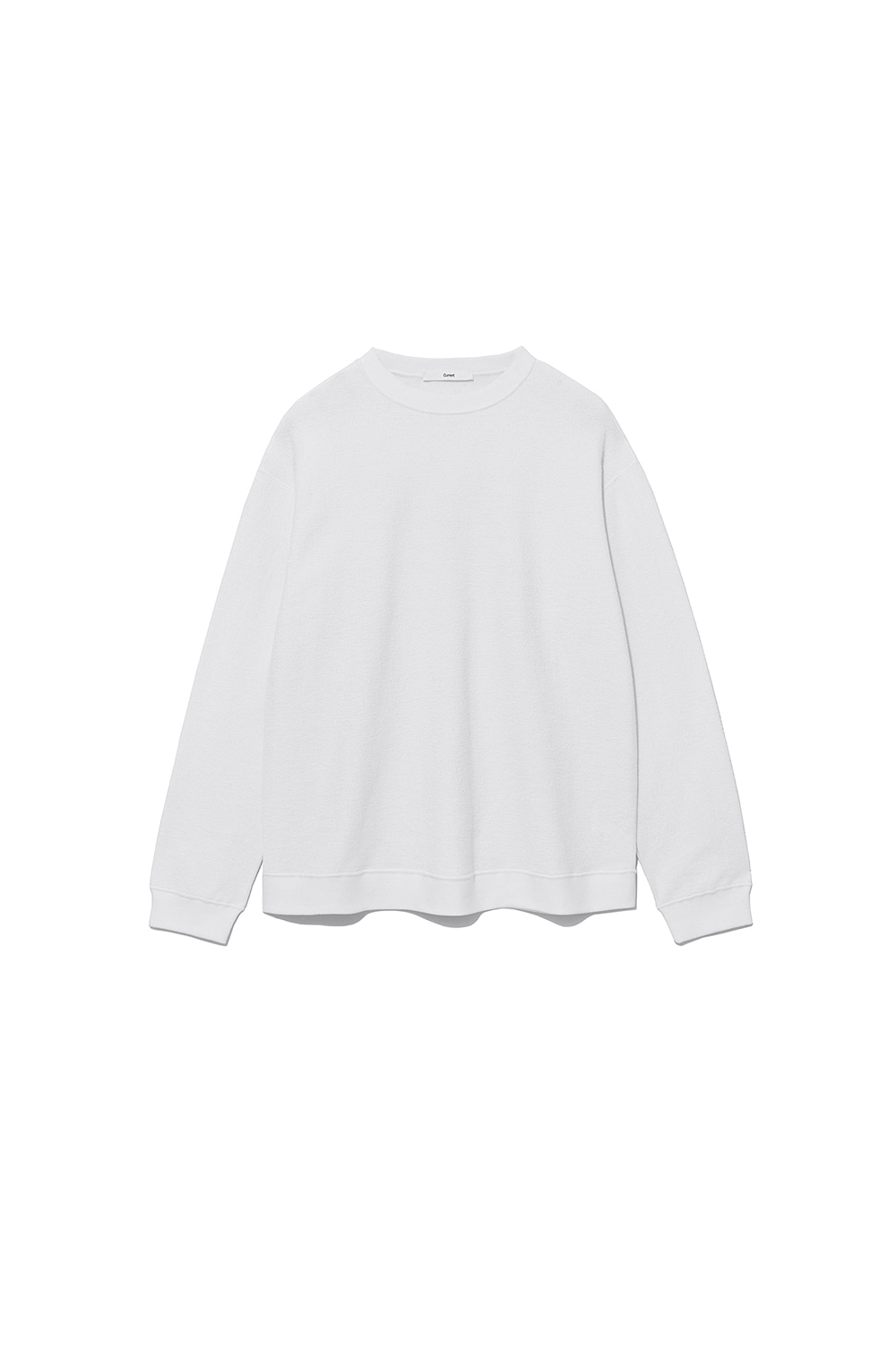 REVERSE SWEATSHIRT MAN [WHITE]