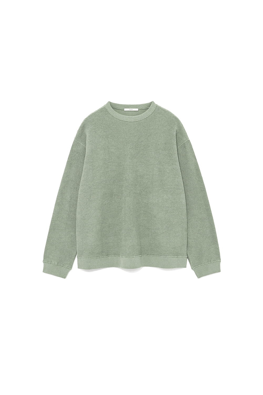 REVERSE SWEATSHIRT MAN [MINT GREY]