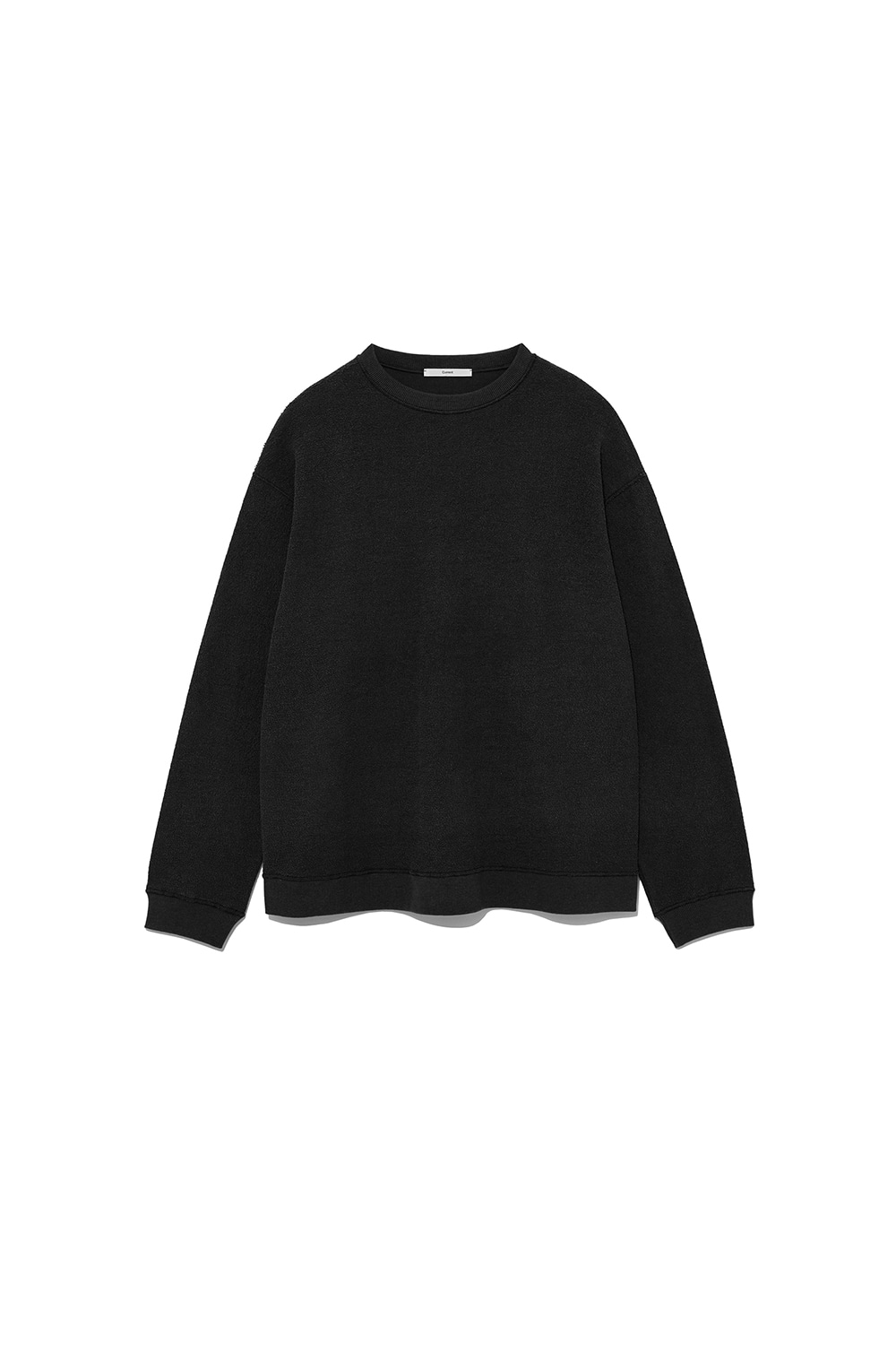 REVERSE SWEATSHIRT MAN [BLACK]