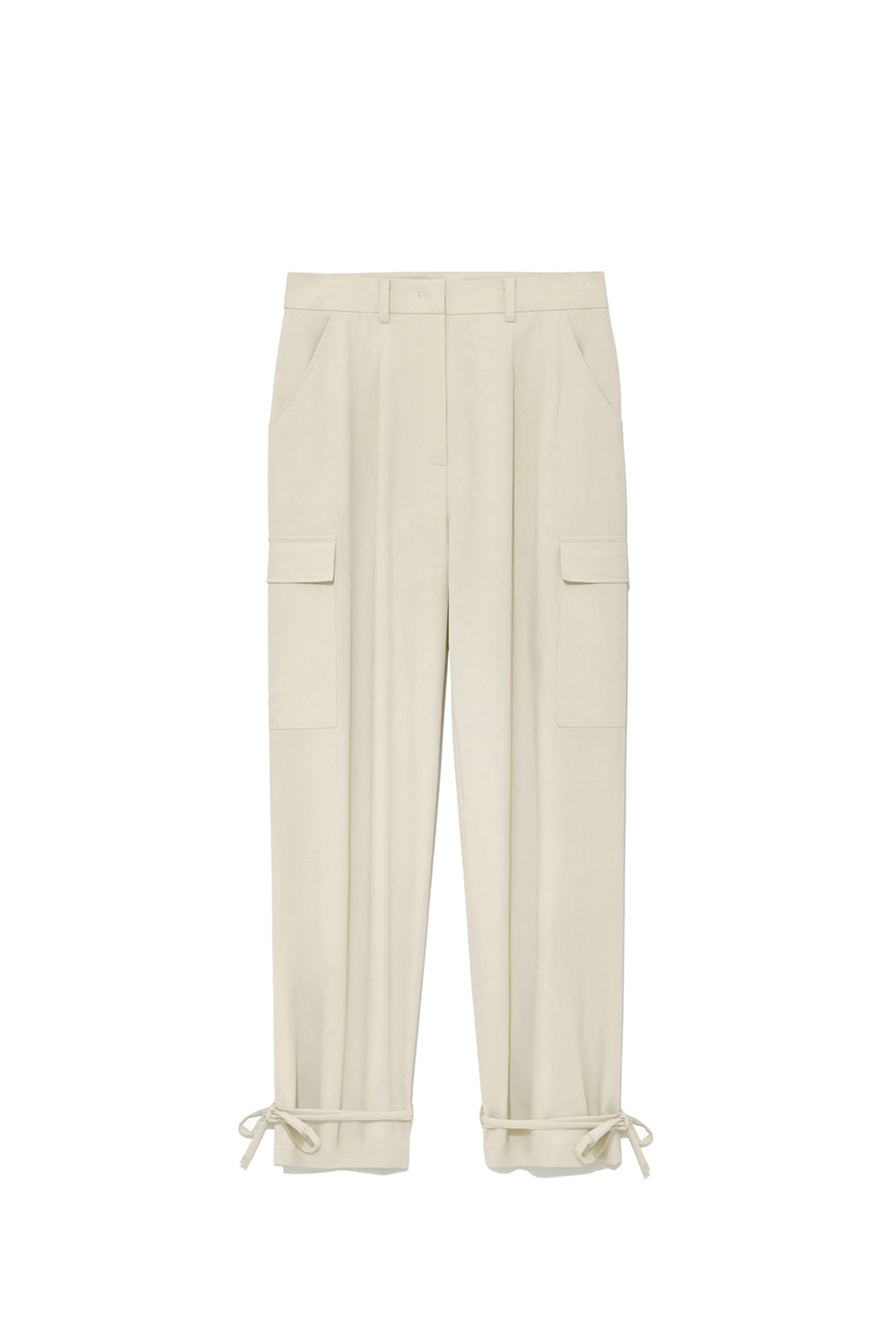 Cargo String Pants Women [Ivory]