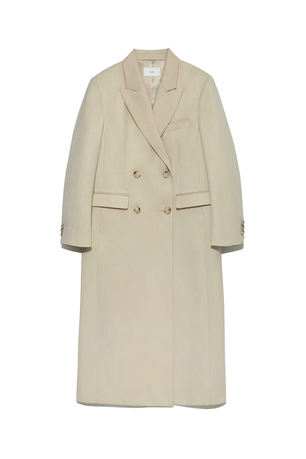 Double Long Coat Women [Ivory]