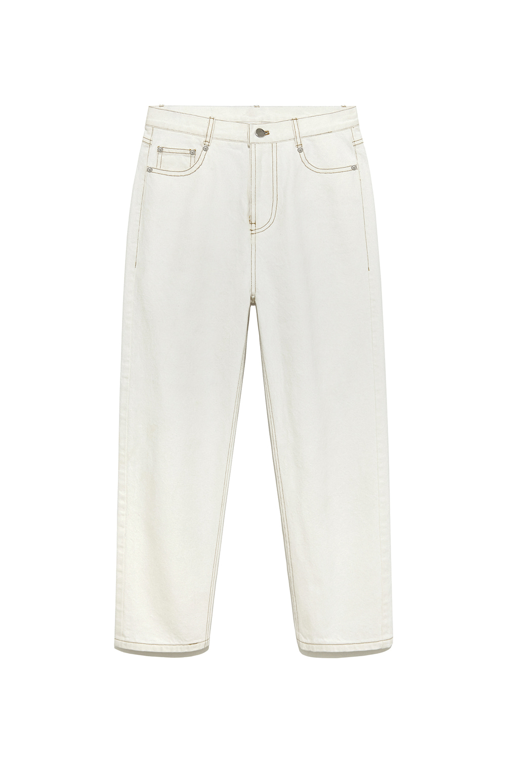 Highwaist Denim Pants Women [White]