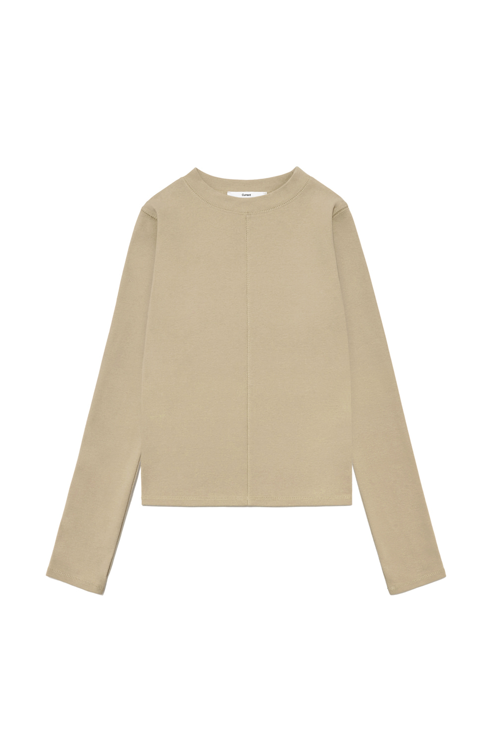 Long sleeve Tee Women [Beige]