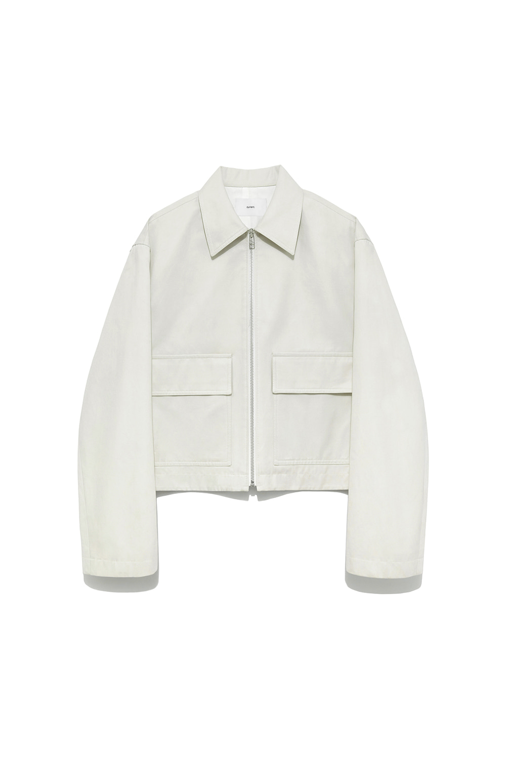 Two Pocket Crop Jacket Women [White]