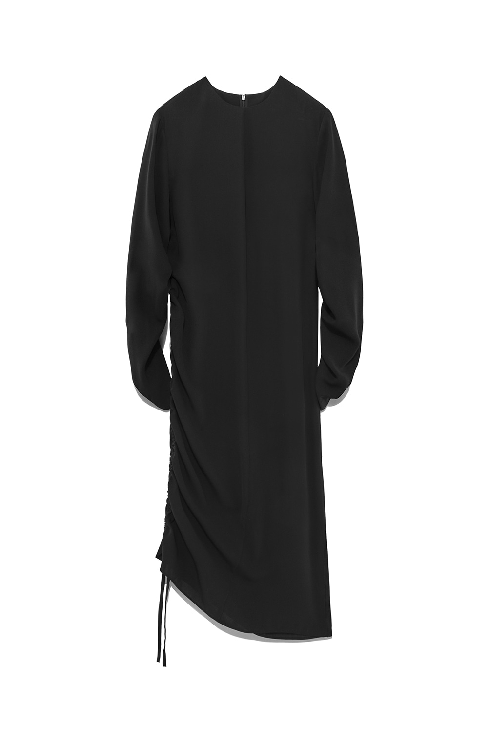 Shirring Dress Women [Black]