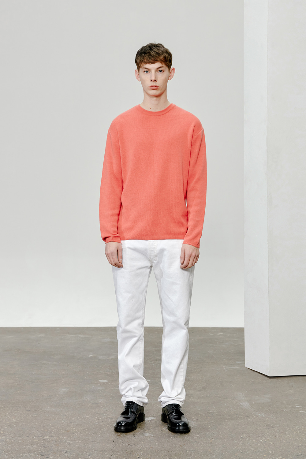 Cashmere Knit Men [Salmon]