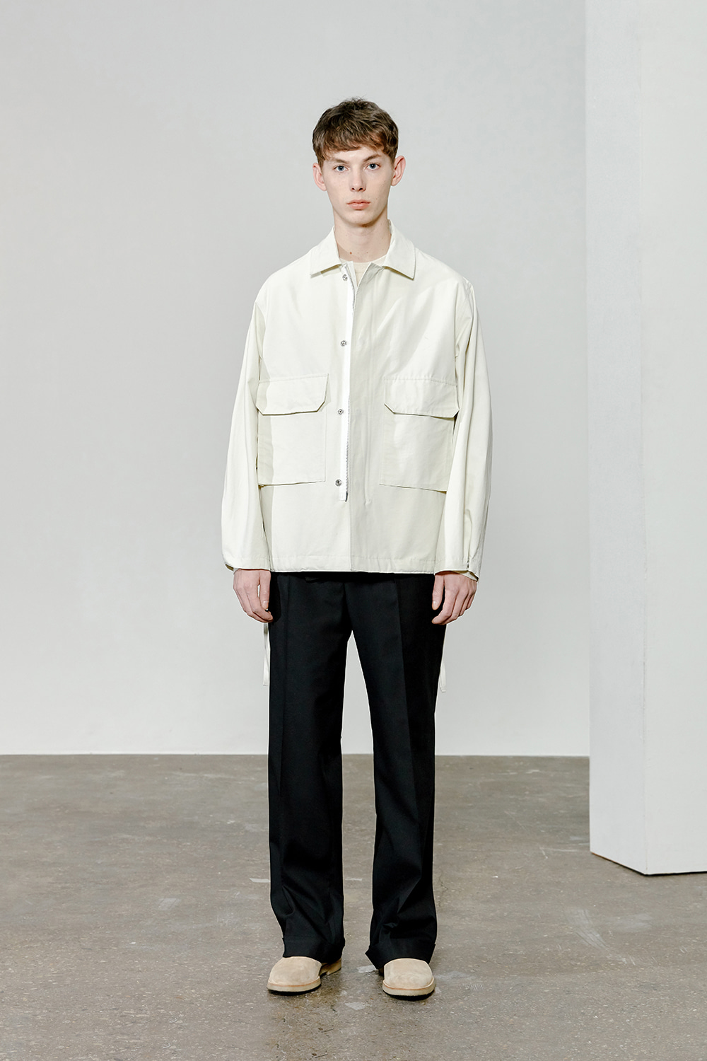 BDU Jacket Men [Ivory]
