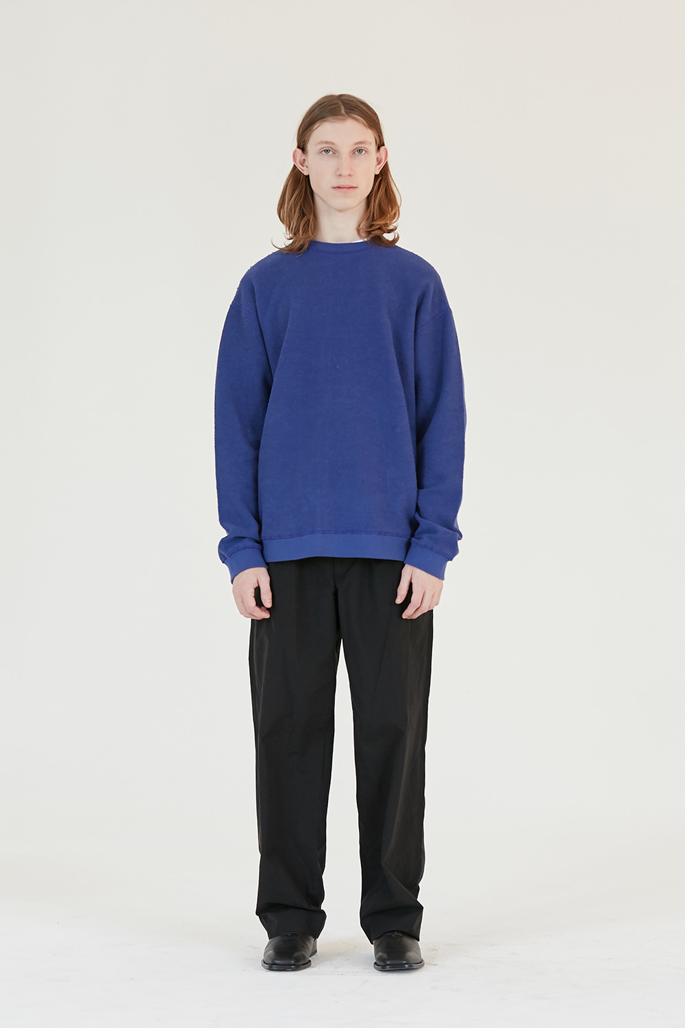 Reverse Sweatshirt Men [Royal Blue]