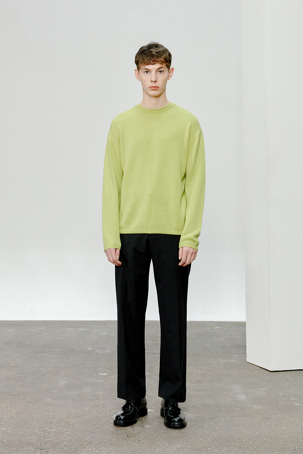 Cashmere Knit Men [Lime]