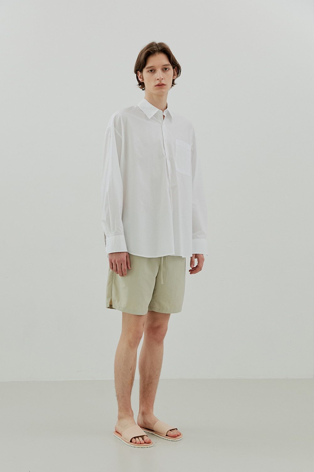 Summer Easy Shorts Men [Beige]