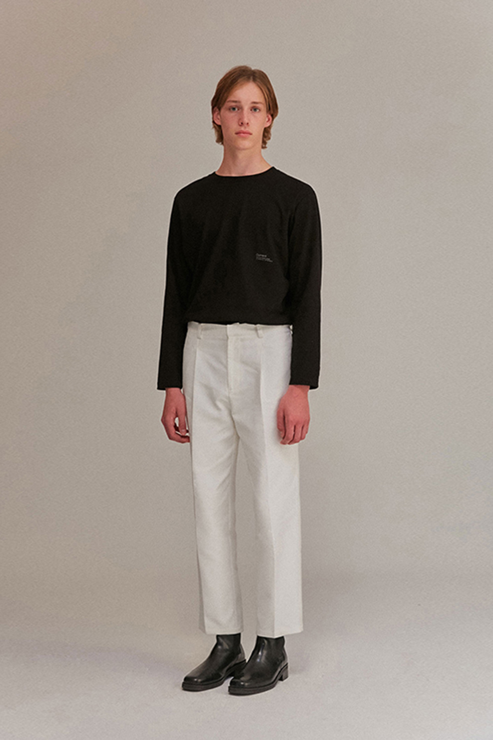 Wide Pants Men [Ivory]
