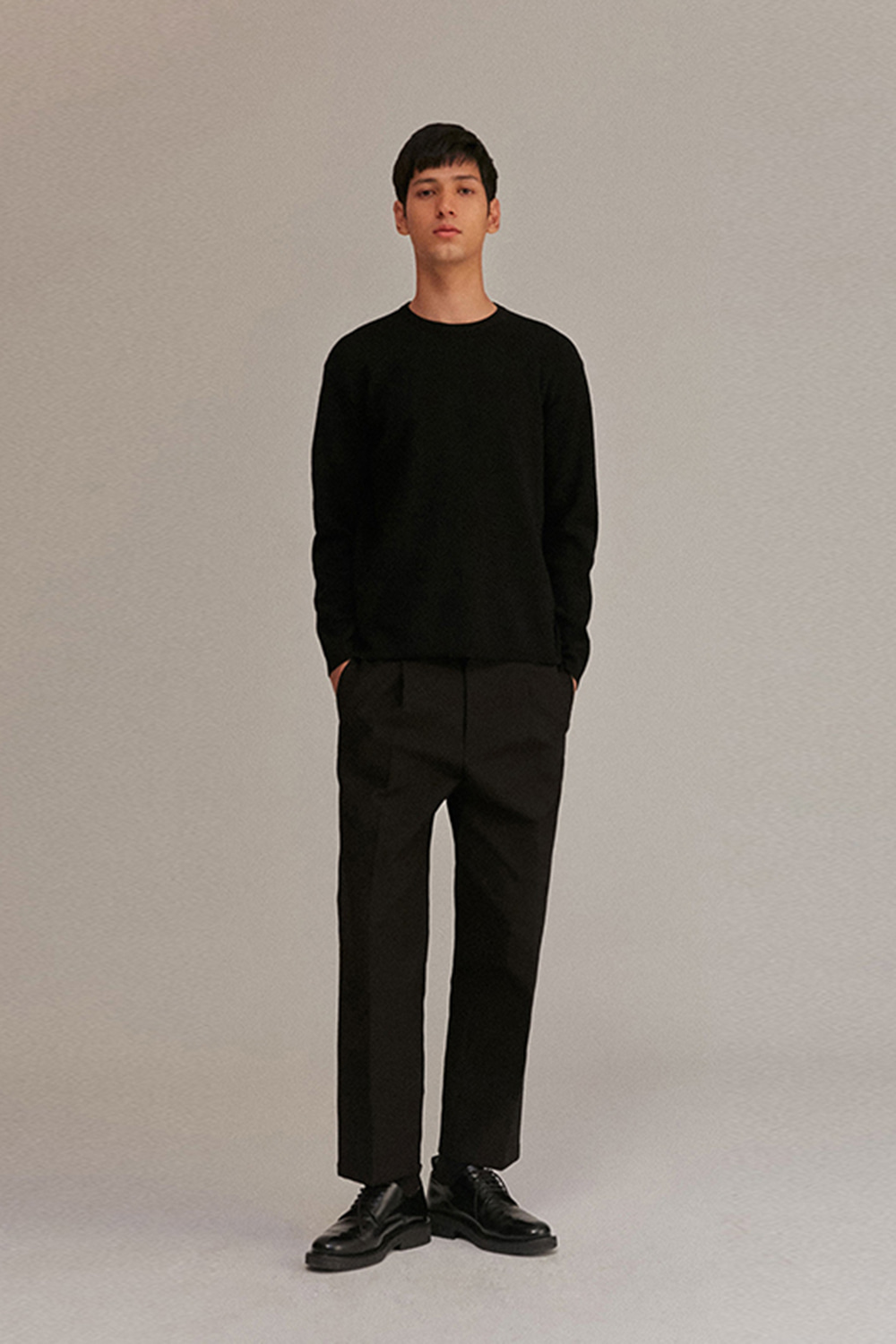 Wide Pants Men [Black]