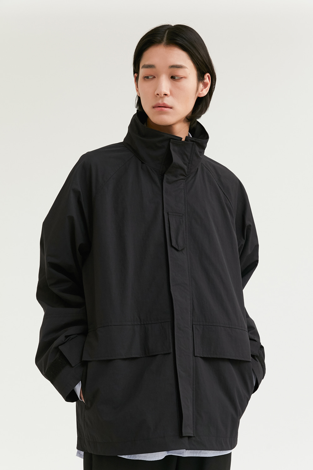 Shell Parka Men [Black]