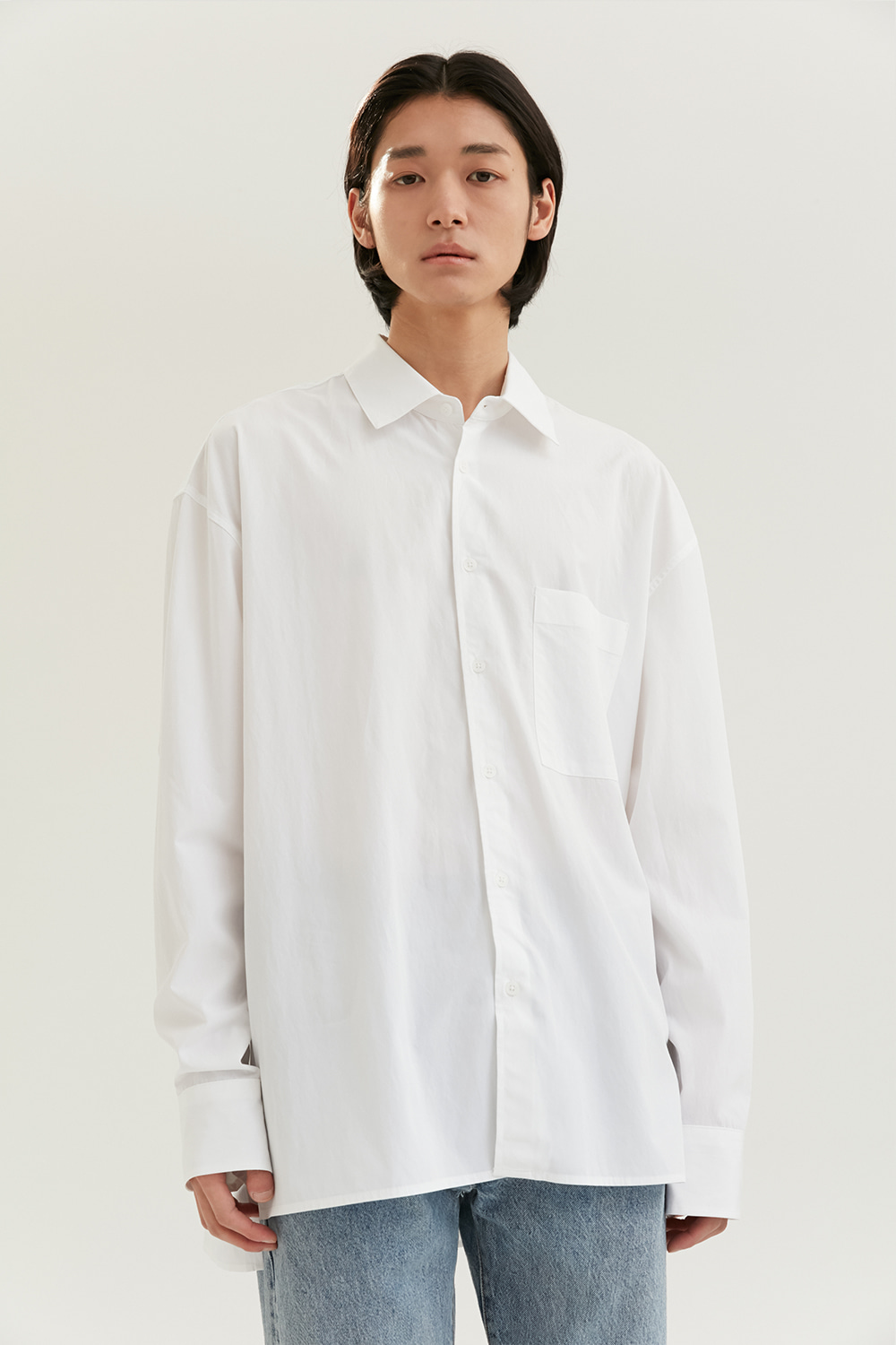 Relax Shirts Men [White]