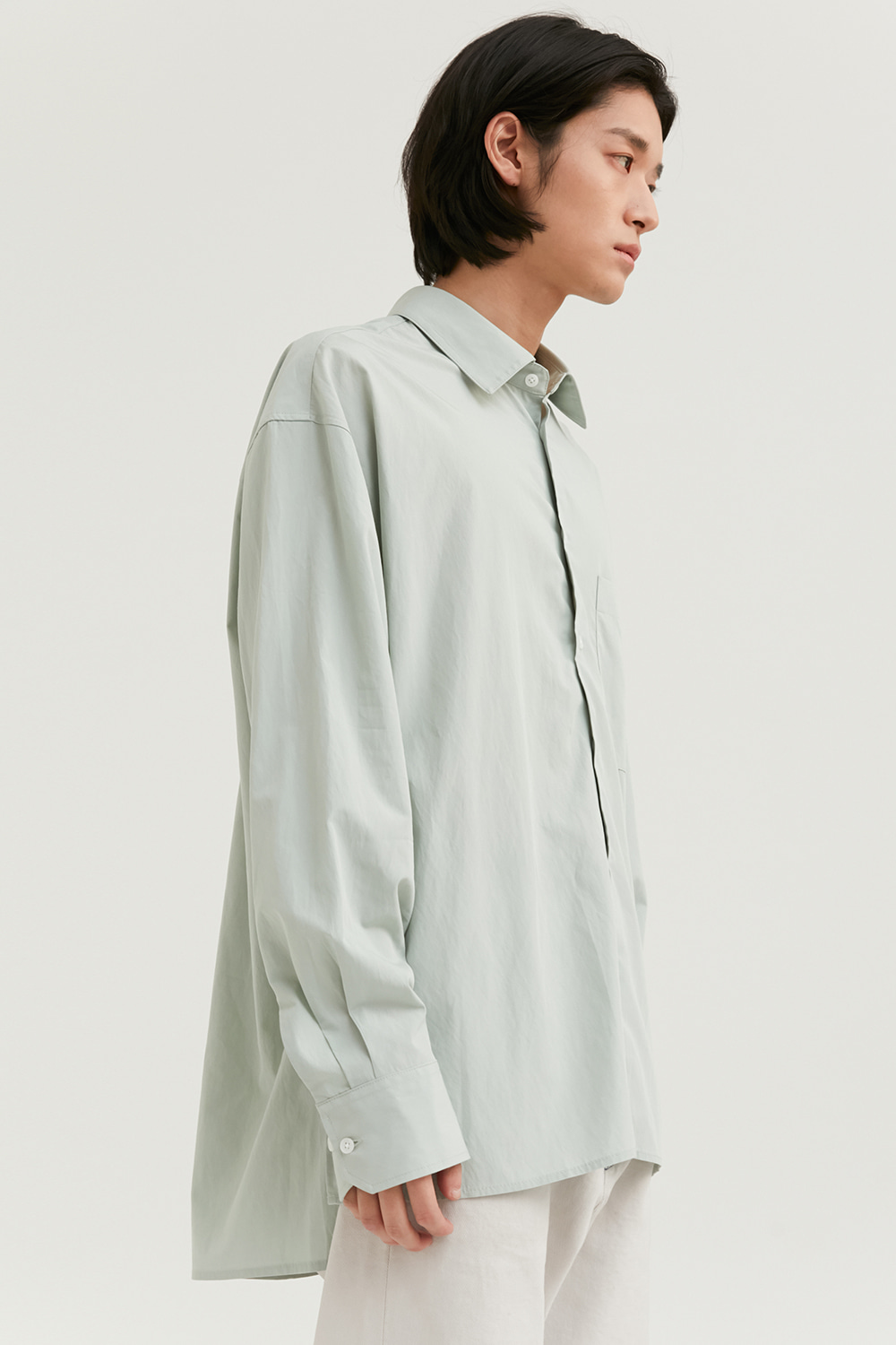 Relax Shirts Men [Light Green]