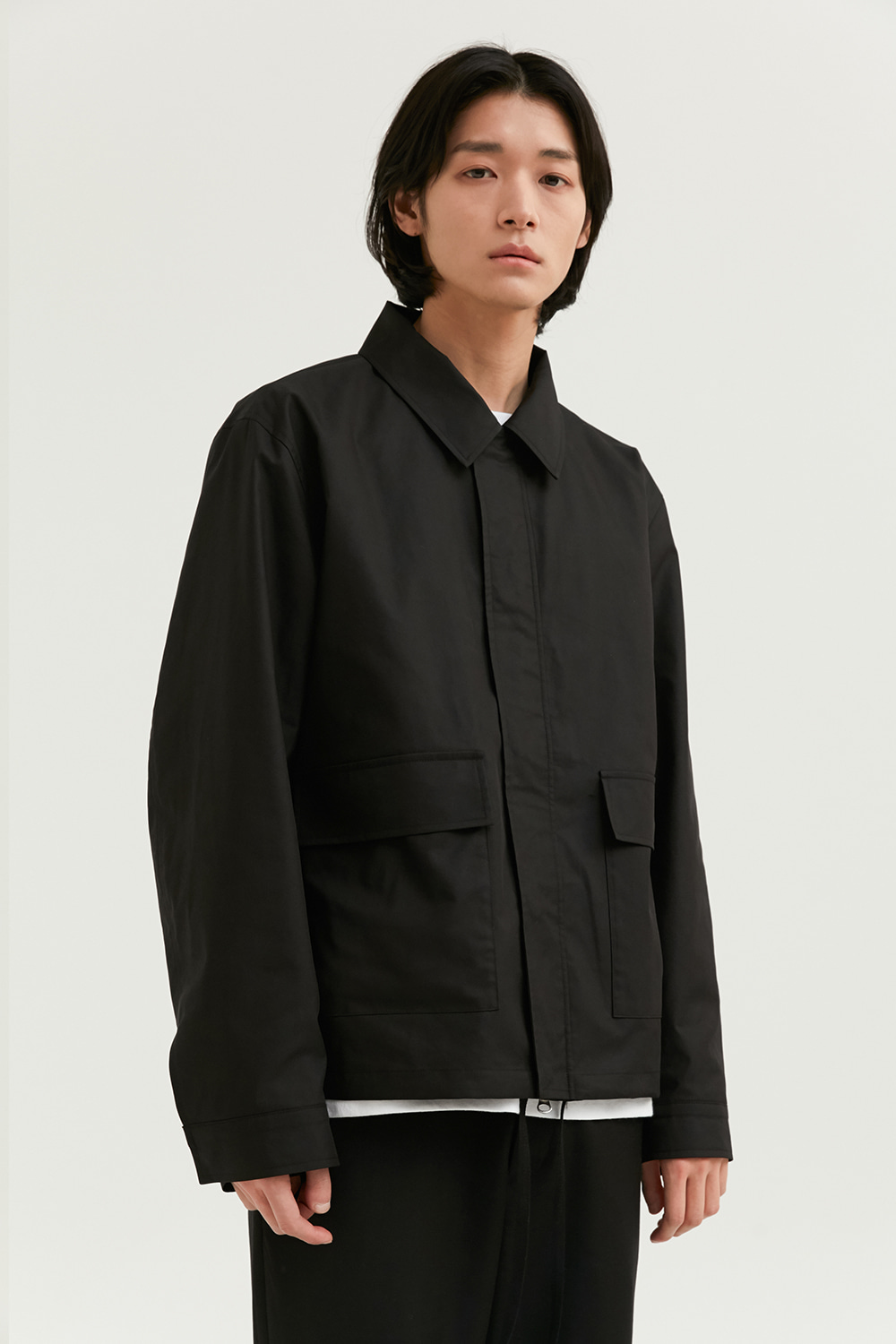 Two Pocket Jacket Men [Black]