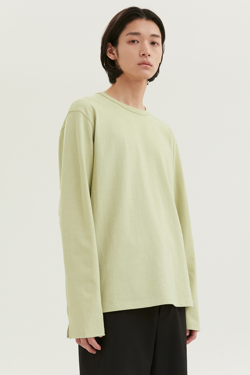 Long Sleeves Men [Light Green]