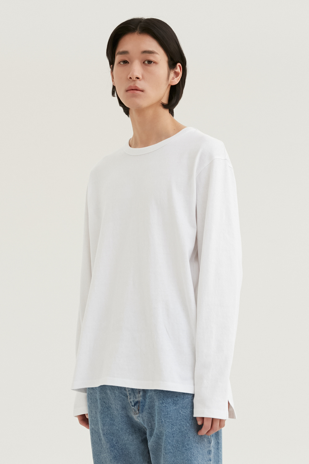 Long Sleeves Men [Off White]