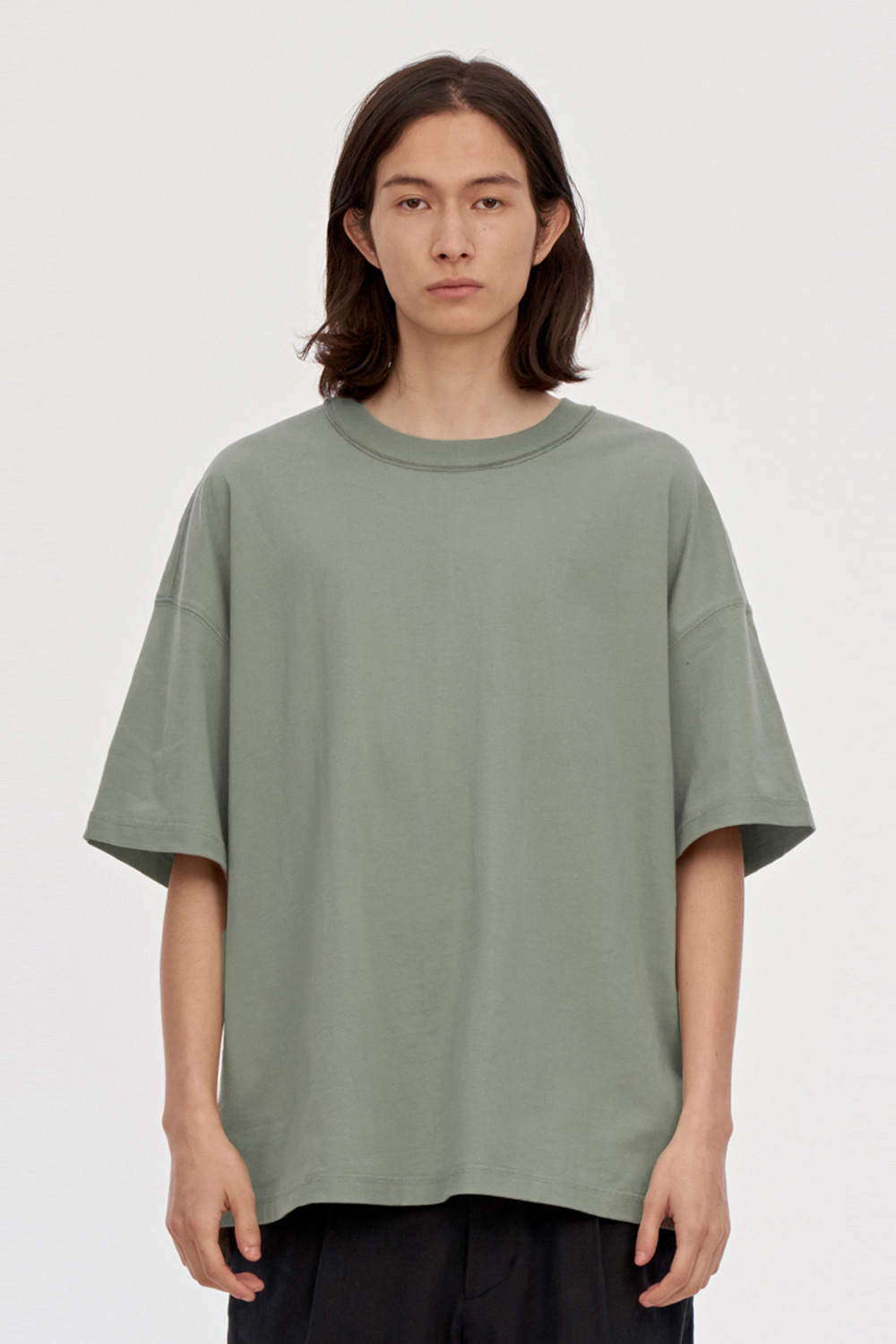Reversed Tee Men [Khaki]