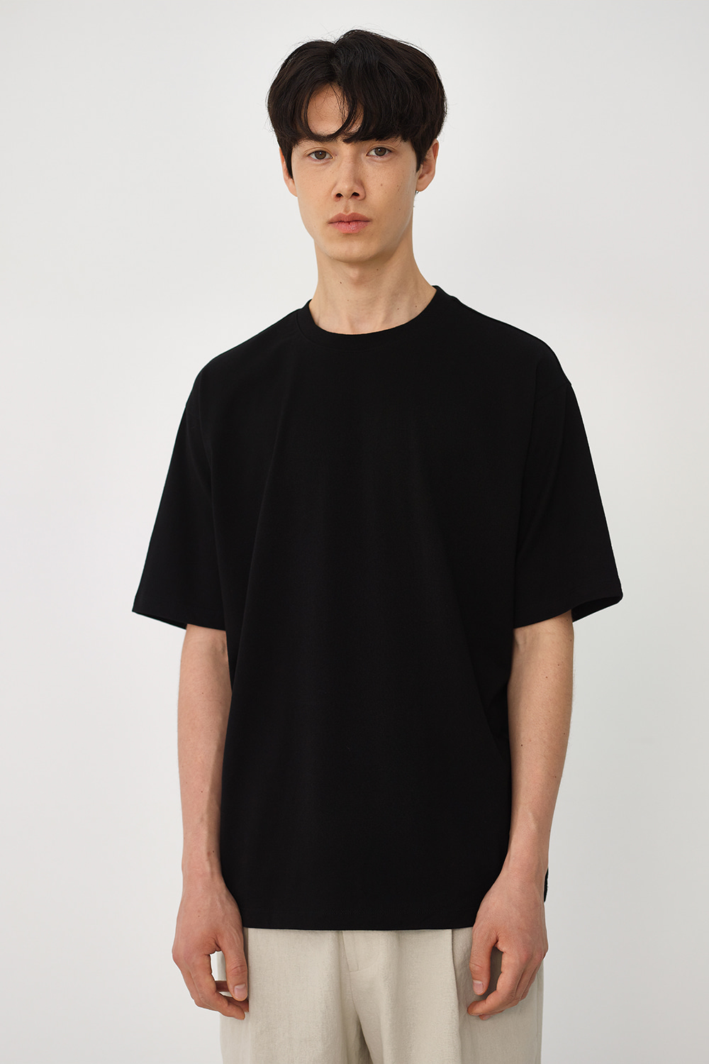 Premium Supima 100 Tee Men [Black]