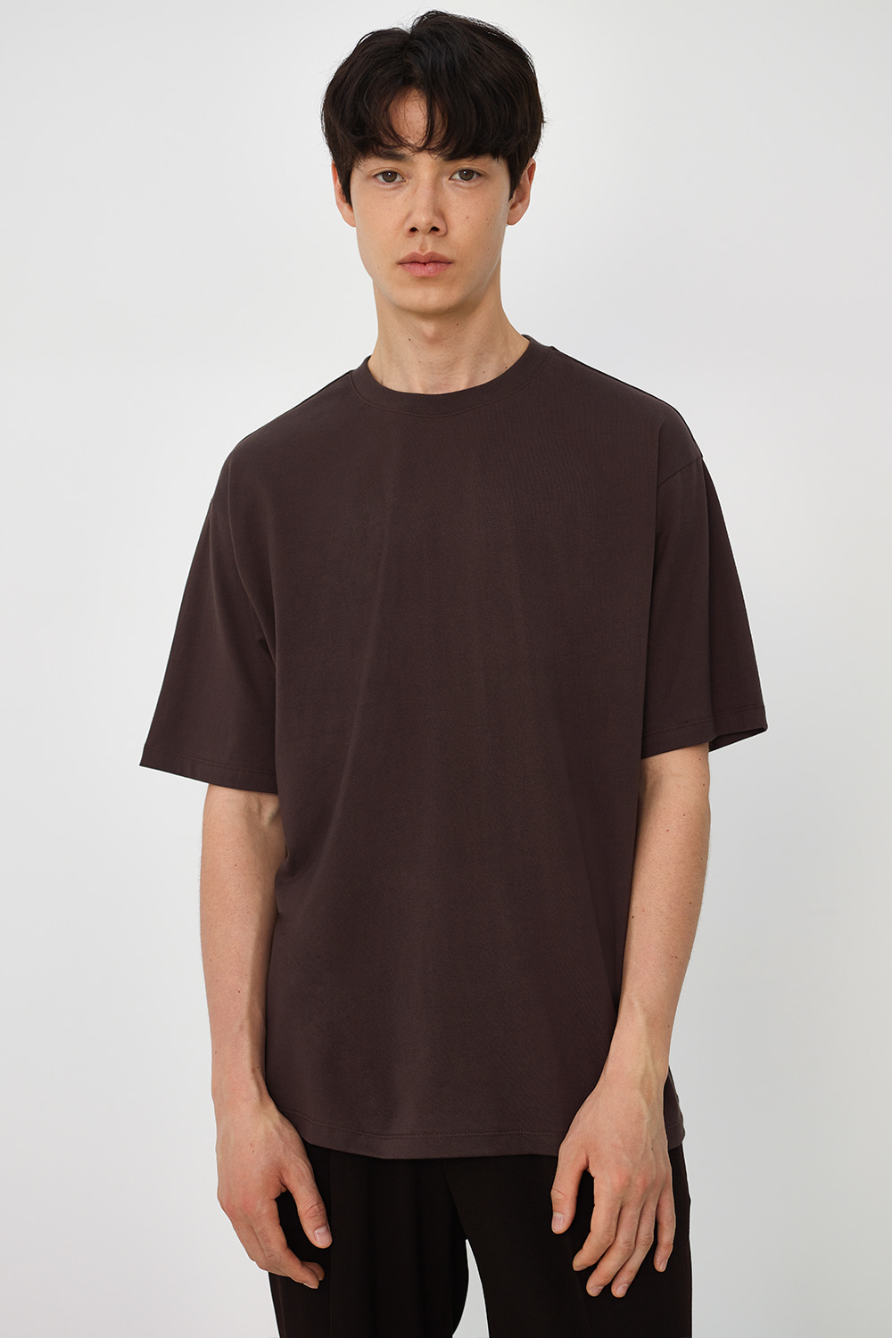 Premium Supima 100 Tee Men [Dark Brown]